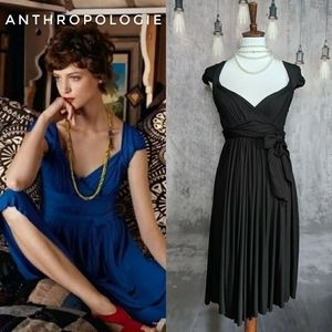 Anthropologie C. Keer Grand Holiday Grecian dress